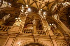 Interior of Opera state house, Vienna Stock Photos