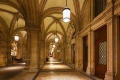 Interior of Opera state house, Vienna Stock Image