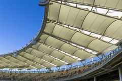 Optus Stadium in Perth Royalty Free Stock Photo