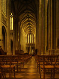Interior of Orleans Cathedral Stock Photography