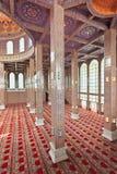 Interior ornamentado da mesquita Imagem de Stock