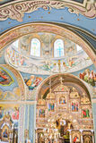 Interior of the orthodox church Royalty Free Stock Images