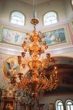 Interior of the Orthodox Church Stock Photos