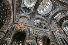 Interior of an Orthodox church Royalty Free Stock Photo