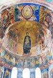 Interior of orthodox monastery Royalty Free Stock Photography