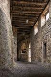 Interior of an Orthodox monastery in Meteora, Greece Royalty Free Stock Photo