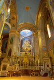 The interior of the OrthodoxCathedral Stock Photos