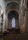 Interior of Orvieto Cathedral, Umbria, Italy Royalty Free Stock Photography