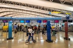 Interior of Osaka International Airport Royalty Free Stock Photo
