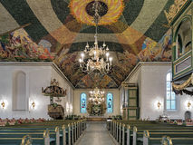 Interior of Oslo Cathedral, Norway Royalty Free Stock Photos
