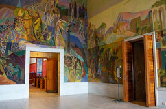 Interior of the Oslo city hall, Norway Stock Images