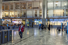 Interior of Oslo Gardermoen International Airport Royalty Free Stock Photo