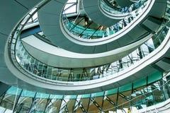 Interior oval Imágenes de archivo libres de regalías