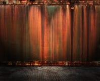 Interior oxidado Imagens de Stock Royalty Free