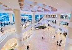 Interior pacífico de la alameda de compras del lugar en Hong Kong Fotos de archivo libres de regalías