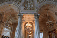 Interior of palace Royalty Free Stock Images