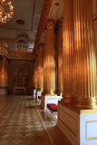 Interior of palace Stock Photography