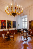 Interior of palace in Salzburg Austria Stock Photography