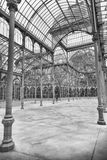 Interior of Palacio de Cristal, Madrid Royalty Free Stock Images