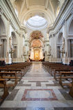 Interior of Palermo Cathedral, Sicily Royalty Free Stock Photography