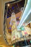 Interior of Palladium mall in Prague Stock Photos