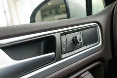 Interior panel of car door Royalty Free Stock Photo