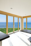 Interior, panoramic windows Royalty Free Stock Photo