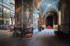 Interior Panteleimon Cathedral Royalty Free Stock Photography