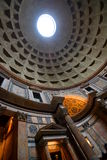 Interior of the Pantheon. Roma, Italy Royalty Free Stock Photography