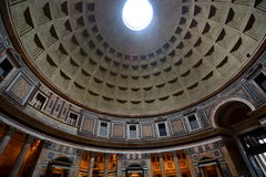 Interior of the Pantheon. Roma, Italy Stock Image