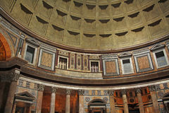 Interior of Pantheon Stock Image