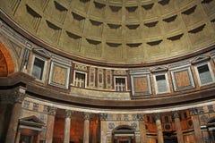 Interior of Pantheon Stock Image