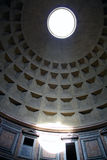 Interior of the Pantheon in Rome Stock Photography
