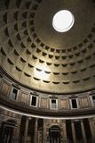 Interior of Pantheon, Rome, Italy. Interior dome in Pantheon, Rome, Italy Royalty Free Stock Photos