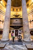 The interior of the Pantheon, Rome Royalty Free Stock Photography
