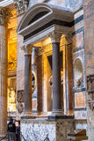 The interior of the Pantheon, Rome Stock Photography