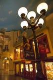 Interior of the Paris Casino Hotel at Night Stock Photos