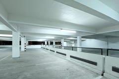Interior of parking lot Stock Photos