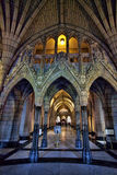 The interior of Parliament in Ottawa, Canada Stock Image