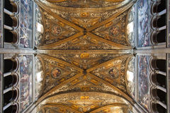 Interior of Parma cathedral Royalty Free Stock Photo