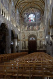 Interior of Parma Cathedral Stock Images