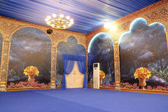 Interior for party or banquet Stock Image