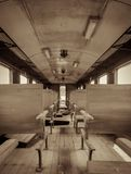Interior of a passenger train Royalty Free Stock Photos