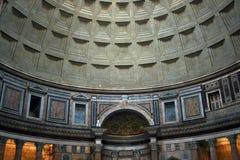 Interior of the Patheon in Rome Stock Photos
