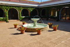 Interior patio Andalusian cortijo Royalty Free Stock Photos