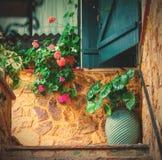 Interior patio Stock Images