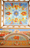 The interior of the Patriarch's monastery in Yekaterinburg Royalty Free Stock Image