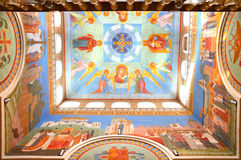 The interior of the Patriarch's monastery in Yekaterinburg Stock Image