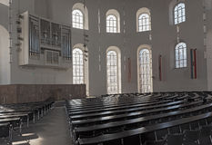 Interior of the Paulskirche Plenary Hall, upper floor of the Frankfurt Paulskirche Royalty Free Stock Photo