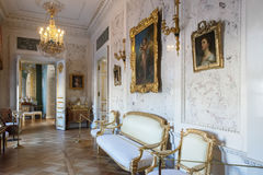 Interior of the Pavlovsk palace, Russian Imperial residence, nea Royalty Free Stock Photo